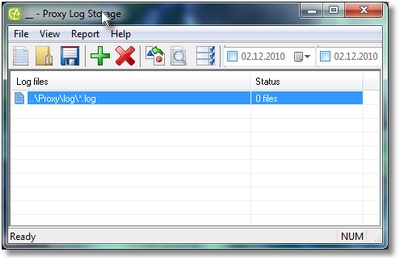 Click to view Proxy Log Storage 5.2 screenshot